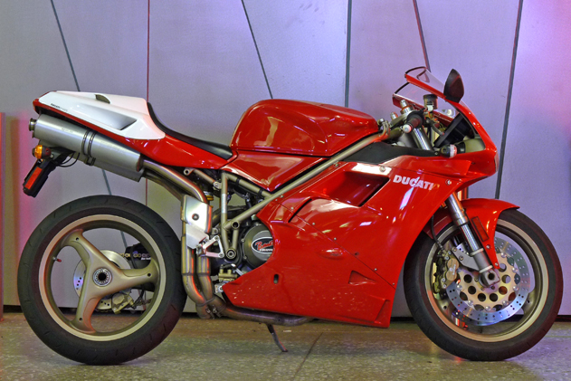 Ducati 916 registered by Cheryl Sandmann - vehicle registration consultant