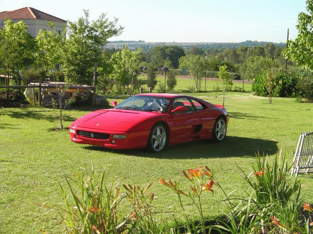 Ferrari registered by Cheryl Sandmann - Vehicle Registration Consultant