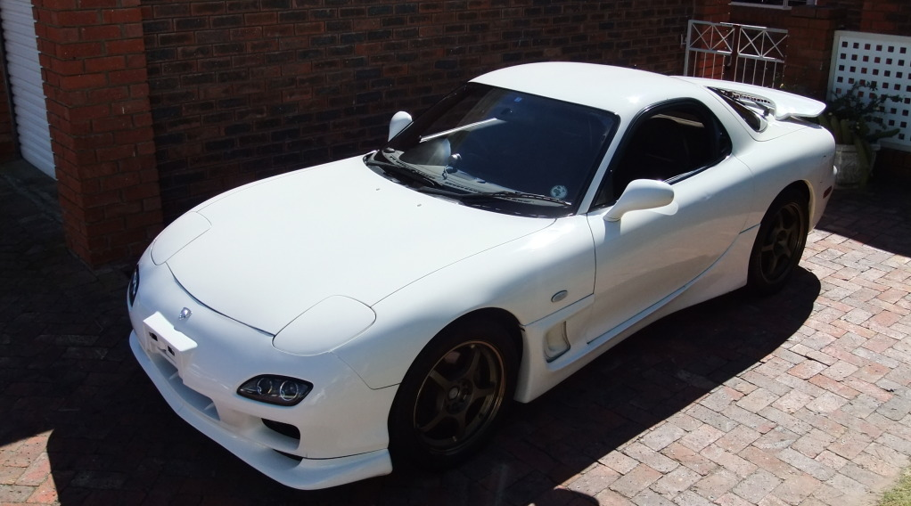 Mazda RX7 Registered by Cheryl Sandmann Vehicle Registration Consultant